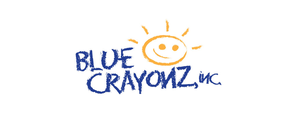 Blue Crayonz, Inc. Logo and website
